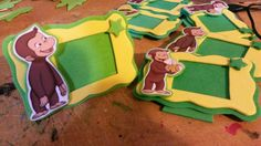 Curious George Party, Curious George Birthday, Girl Birthday, Ideas, Party, Stuff Stuff, Curious George Invitations, Souvenir, Parties Kids