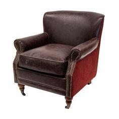 sillón motto rojo
