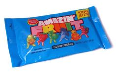 Amazin' Fruit was a brand of confectionary gummy bears that was first manufactured by Hershey, and later by Farley & Sather's. Right In The Childhood, 90s Childhood, My Childhood Memories, School Memories, Childhood Friends, Sweet Memories, 90s Candy, Retro Candy, Vintage Candy