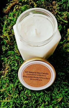 Check out this item in my Etsy shop https://www.etsy.com/listing/398904777/grandmas-kitchen-soy-candle-all-natural