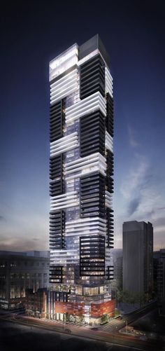 YC Condominiums will rise above Yonge and College, image courtesy of Canderel