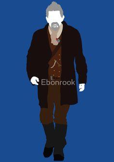 """The War Doctor (John Hurt)"" Posters by Ebonrook | Redbubble"