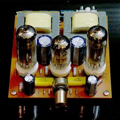 Vintage rocket germanium crystal radio marked made in japan no 56 6n2 pull 6p1 tube single ended amplifier valve amp kit class a diy solutioingenieria Image collections