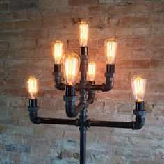 Fancy - Multiple Bulb Edison Floor Lamp