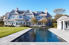 A quintessential Hamptons estate in #Southampton 500 Old Town Road, Southampton NY | Lifton + Green custom built home | 11,350 sf+/- | 3 houses up from ocean | Water views from nearly every room | 1.86 acres | $27.9M | Listed by Zachary and Cody Vichinsky | #500oldtownsouthampton