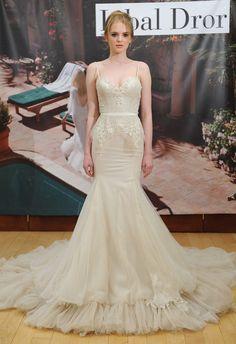 Peplum Mermaid Wedding Dress | Inbal Dror Fall 2014 | MCV Photo | The Knot Blog
