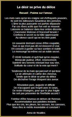 Le désir se prive du délice ! French Love Poems, Passion, Positivity, Words, Expressions, Attitude, Miniatures, Geek, Romantic Quotes