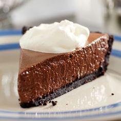 French Silk Pie - Chocolate Meringue Pie Recipes - Delish.com