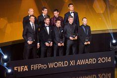 El Once Mundial de la Fifa: Messi, cristiano, Ramos, Iniesta, Kroos y Di María - http://notimundo.com.mx/deportes/el-once-mundial-de-la-fifa-messi-cristiano-ramos-iniesta-kroos-y-di-maria/27368