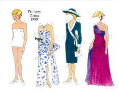 Diana Princess of Wales, 1988, by Tenuzi & Dugan