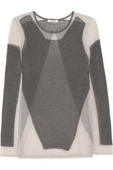 Helmut Lang Open-knit sweater | THE OUTNET
