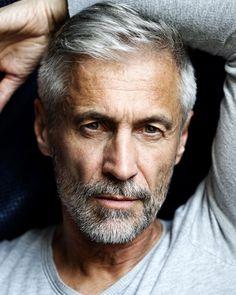 PMA - Men Older Men Haircuts, Best Hairstyles For Older Men, Silver Hair Men, Men With Grey Hair, Fashion For Men Over 50, Handsome Older Men, Short Beard, Poses For Men, Hair And Beard Styles