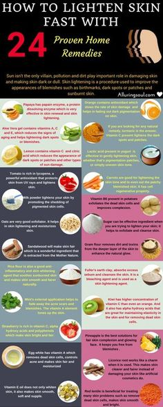 How to Lighten Skin Fast – 24 Proven Home remedies