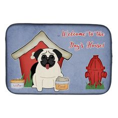 Caroline's Treasures Dog House Collection Pug Cream Machine Washable Memory Foam Mat at Lowe's. Artwork on the floor of your bathroom. Plush top and very comfortable to the touch. This is a Machine Washable bath or kitchen mat that is made with Bathroom Rugs And Mats, Bathroom Mat, Bath Mat, Dish Drying Mat, Old Towels, Polyurethane Foam, Dot And Bo, Pugs, Memory Foam
