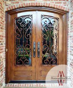 Custom Iron Doors - Doors by Design - Alabama and Mississippi ...