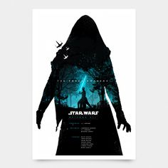 Star Wars: The Force Awakens Poster - Created by Joseph HarroldAvailable for sale at his Etsy Shop.