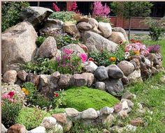 20 Blooming Rock Garden Design Ideas And Backyard Landscaping Tips