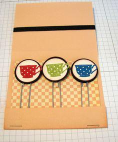 Matchbook Paper Clip Holder Inside
