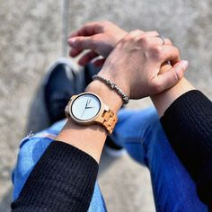 "Drevené hodinky XO ""Rowan"" Wooden Gift Boxes, Wooden Gifts, Handmade Wooden, Wooden Watch, Rowan, Wood Species, Minimalist Design, Quartz, Wooden Clock"