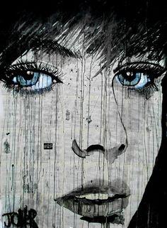 """Saatchi Online Artist Loui Jover; Drawing, """"wish"""" #art"""