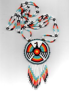 native american beadwork by dcouchie on Etsy, $50