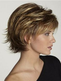 Wigsis provides variety of Brown Fabulous Layered Straight Short Wigs with good customer service and fast shipment, including short curly wigs,short brown wig for customer. Short Curly Wigs, Short Straight Hair, Short Hair With Layers, Short Hair Cuts For Women, Short Hairstyles For Women, Bob Hairstyles, Straight Hairstyles, Unique Hairstyles, Funny Hairstyles