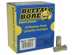 Buffalo Bore Ammunition 44 Special 200 Grain Hard Cast Wadcutter Anti-Personnel Box of 20