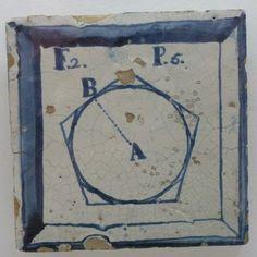 Azulejos didácticos(Siglo XVIII) en el Museo Nacional del Azulejo de Lisboa(Portugal). | Matemolivares