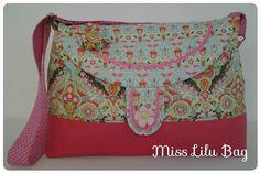 Nähanleitungen Taschen - Ebook Miss Lilu Bag, anfängertauglich - ein Designerstück von Handmade-by-Miss-LiLu bei DaWanda