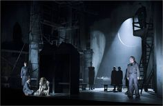 Selma Jezkova opera at Lincoln Center Festival. Set design by Christian Lemmerz.