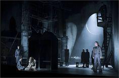 Selma Jezkova opera at Lincoln Center Festival. Set design by Christian Lemmerz.