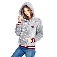 School Spirit Sweatshirt Heather San Diego State University Girls Zipper Hoodie