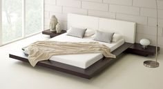 La elegancia de las camas minimalistas - http://www.bezzia.com/la-elegancia-de-las-camas-minimalistas/