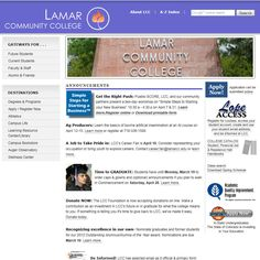 Lamar Community College is the smallest of the Colorado community colleges. In was established in 1937 in Lamar, in southeast Colorado. The college was founded as the Junior College of Southeastern Colorado in 1937.
