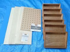 Daiso and Seria Box Shelves, Shelf, Daiso, Tool Box, Diy And Crafts, Home Improvement, Diy Projects, Interior, Creative