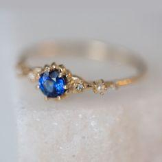 Clara's Dream Sapphire Ring - Wedding & Engagement - Catbird