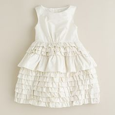 Girls' taffeta Contessa dress - oh my!