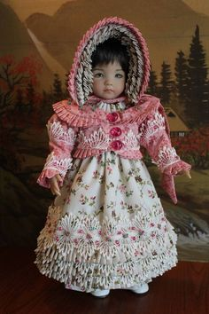 "Elegant Regency 5-Piece Ensemble For Your 13"" Dianna Effner Little Darling Doll"