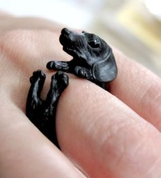 Dachshund Ring Adorn the hunter. Com