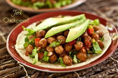 Jerk Chickpeas (from Let Them Eat Vegan) by Plant-Powered Kitchen