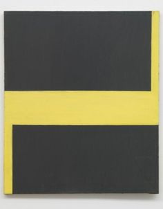 Image: Blinky Palermo, Untitled, 1964, Oil on canvas, Collection Stroher, Darmst