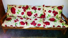 Capas de almofada feitas com linhão #fizcoma104 #artesanato