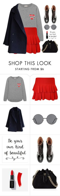 """""""Untitled #438"""" by ino-6283 ❤ liked on Polyvore featuring Chinti and Parker, WearAll, Forever 21 and Karen Millen"""