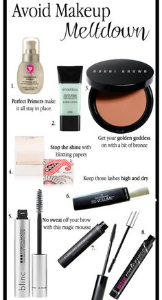 Meltproof Make Up Tips and Products for Summer
