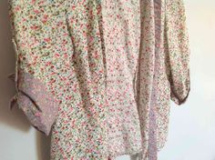 Odille from Anthropologie Floral Blouse This spring, I dare to wear floral. #Swapdom #BefriendATrend