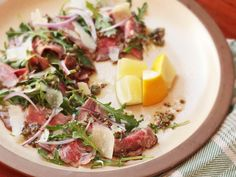 composed-salad steak carpaccio