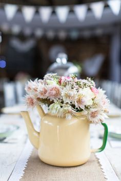 Rustic farm wedding in the Karoo. Photo from Mariechen + Andre collection by Wesley Vorster Photography Shed Wedding, Farm Wedding, Diy Wedding, Wedding Ideas, Table Arrangements, Table Centerpieces, Come Dine With Me, Wedding Decorations, Table Decorations
