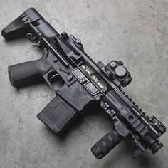 Build Your Sick Cool Custom Assault Rifle Firearm With This Web Interactive Firearm Builder with ALL the Industry Parts - See it yourself before you buy any parts Tactical Rifles, Firearms, Shotguns, Weapons Guns, Guns And Ammo, Ar Pistol, Submachine Gun, Fire Powers, Assault Rifle