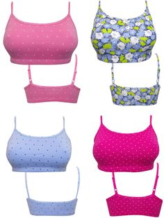 LADIES BRALETS CROP TOP 5 PACK ASSORTED COLOURS ONLY £18 12 14 16 18 FREE P&P #OldNavy #Bralette