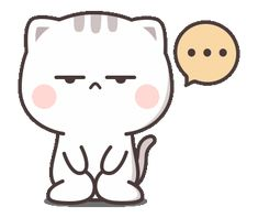 LINE Stickers Cutie Cat-Chan Jimao,Cutie Cat-Chan is coming again !,Stickers,Animated Stickers,Example with GIF Animation Cute Bear Drawings, Mini Drawings, Cute Kawaii Drawings, Pixel Kawaii, Griffonnages Kawaii, Cute Anime Cat, Cute Cat Gif, Cute Love Pictures, Cute Love Gif